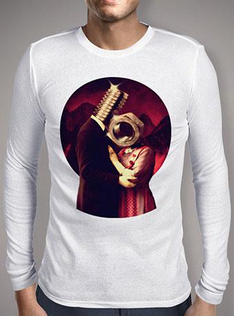 Мужская футболка с длинным рукавом Screw Love