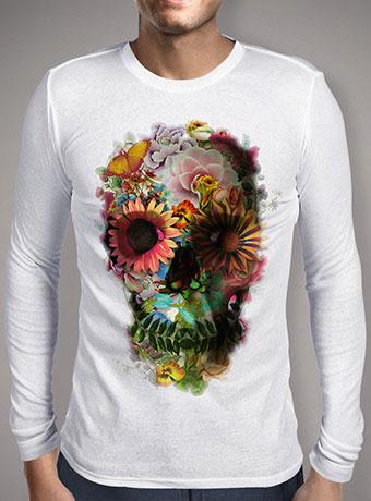 Мужская футболка с длинным рукавом Skull 2