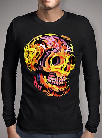 Мужская футболка с длинным рукавом Skull V