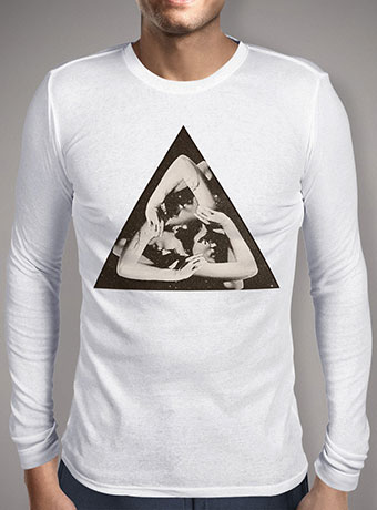 Мужская футболка с длинным рукавом Triangle