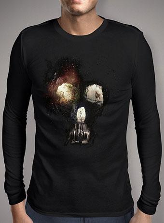 Мужская футболка с длинным рукавом Cave Skull