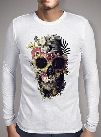 Мужская футболка с длинным рукавом Garden Skull
