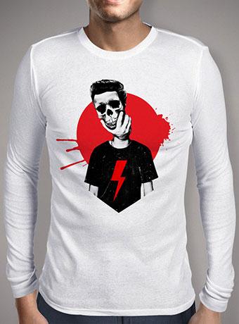 Мужская футболка с длинным рукавом Live Fast