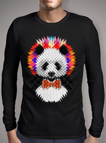 Мужская футболка с длинным рукавом Panda 2