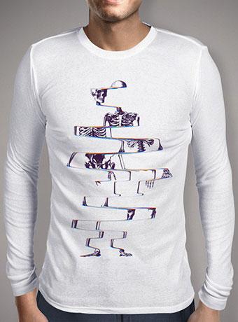 Мужская футболка с длинным рукавом Skeleton
