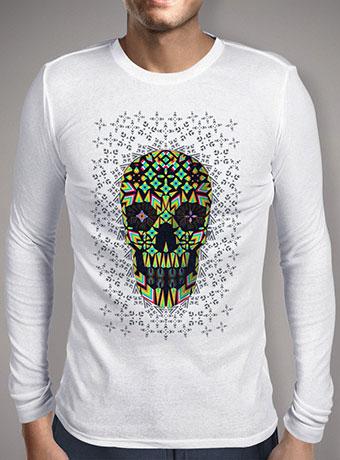 Мужская футболка с длинным рукавом Skull 6