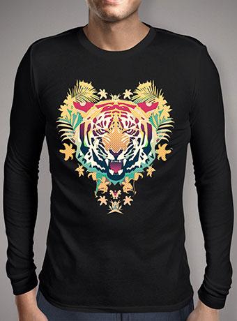 Мужская футболка с длинным рукавом Tiger