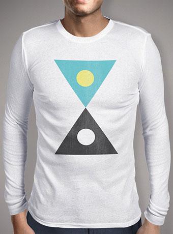 Мужская футболка с длинным рукавом Day & Night