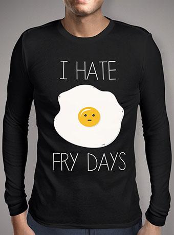 Мужская футболка с длинным рукавом I Hate Fridays
