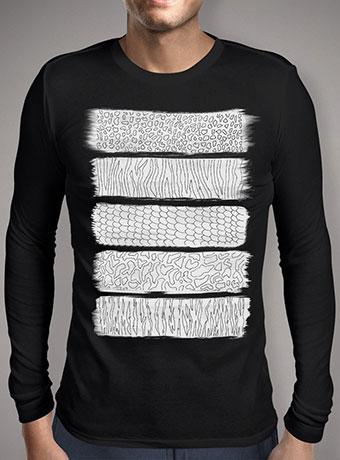 Мужская футболка с длинным рукавом Wild Abstraction