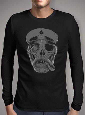 Мужская футболка с длинным рукавом Black Thorn