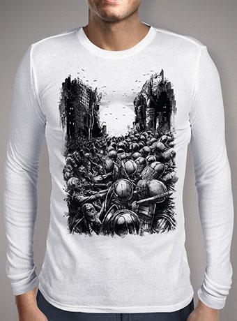 Мужская футболка с длинным рукавом Chaos Infected