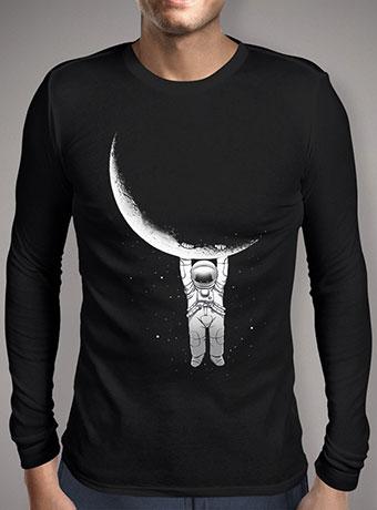 Мужская футболка с длинным рукавом Help