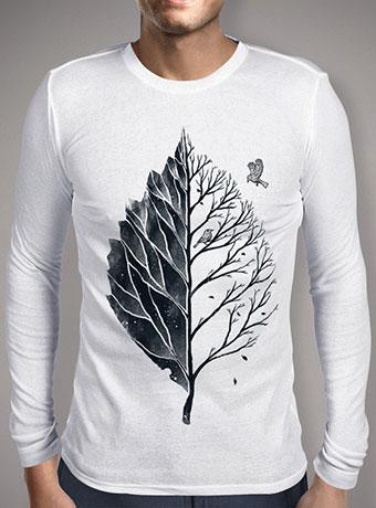 Мужская футболка с длинным рукавом Leaf of Life