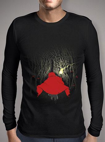Мужская футболка с длинным рукавом Lost in the Forest