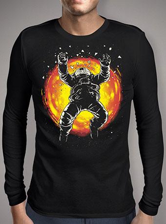 Мужская футболка с длинным рукавом Lost in the Space