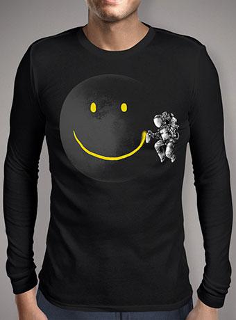 Мужская футболка с длинным рукавом Make a Smile