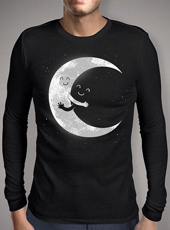 Мужская футболка с длинным рукавом Moon Hug