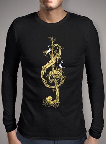 Мужская футболка с длинным рукавом Natural Melody