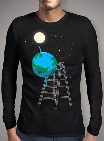 Мужская футболка с длинным рукавом Reach the Moon