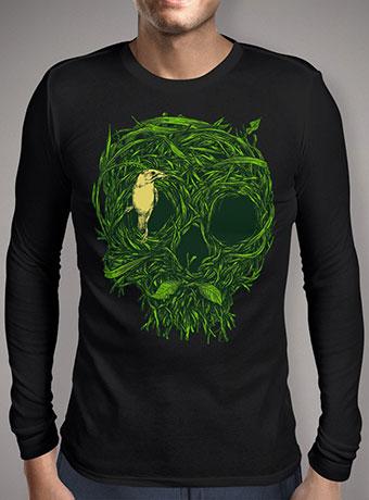 Мужская футболка с длинным рукавом Skull Nest