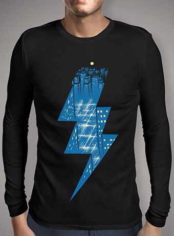 Мужская футболка с длинным рукавом Thunder City