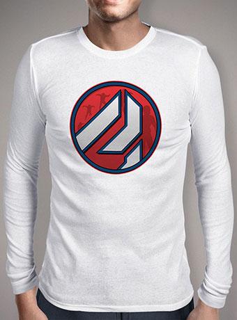 Мужская футболка с длинным рукавом Ant-Man Icon
