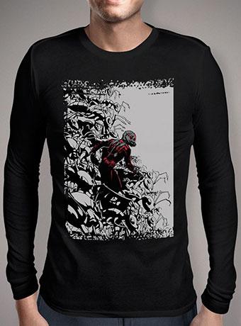 Мужская футболка с длинным рукавом Ant-Mans Army