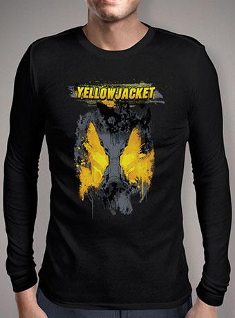 Мужская футболка с длинным рукавом The Yellowjacket