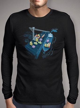Мужская футболка с длинным рукавом Game Port