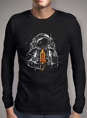 Мужская футболка с длинным рукавом Space Popsicle