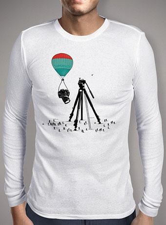 Мужская футболка с длинным рукавом Supersize Cam Atraction