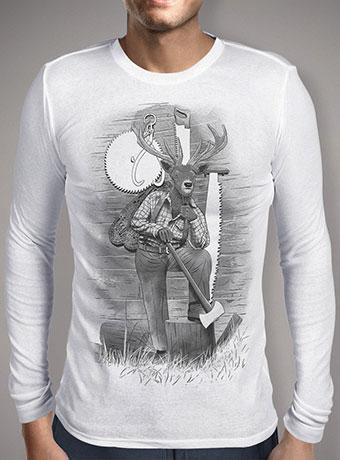 Мужская футболка с длинным рукавом In the Woods