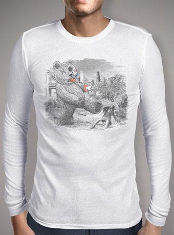 Мужская футболка с длинным рукавом Teddy's Back!