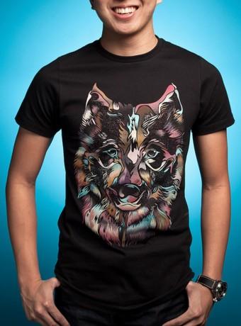 Мужская футболка Wild Wolf