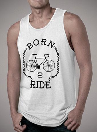 Мужская майка Born To Ride