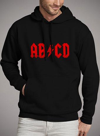 Мужская толстовка Abcd Rock