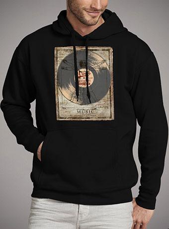 Мужская толстовка De Vinci Vinyl