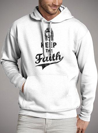 Мужская толстовка Keep The Faith