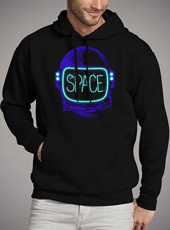 Мужская толстовка Space Neon