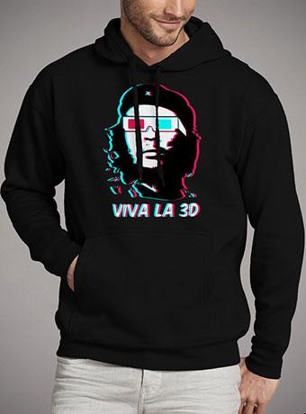 Мужская толстовка Viva La 3d
