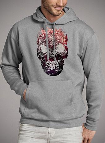 Мужская толстовка Floral Skull