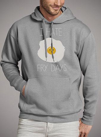 Мужская толстовка I Hate Fridays