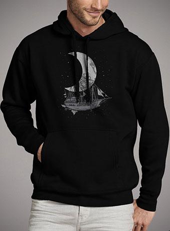 Мужская толстовка Moon Ship
