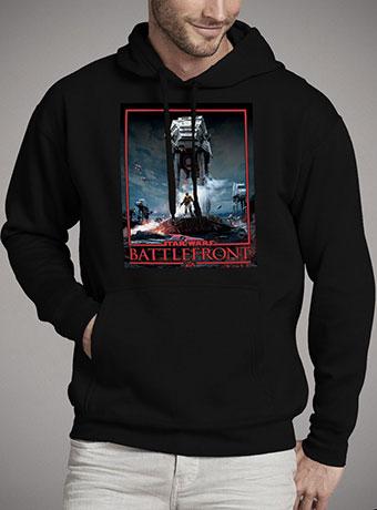 Мужская толстовка Battlefront AT-AT Sith Edition