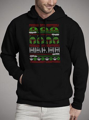 Мужская толстовка Boba Fett Christmas