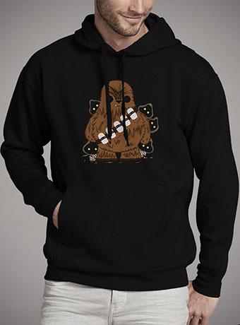 Мужская толстовка Chewbacca and Friends