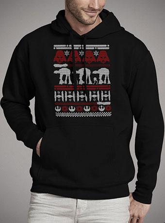 Мужская толстовка Christmas on Hoth