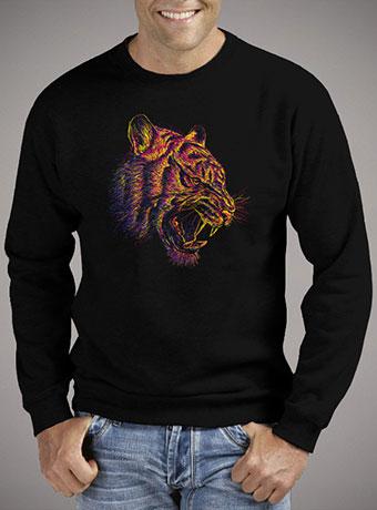 Мужской свитшот Blazing Tiger