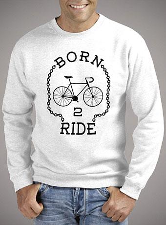 Мужской свитшот Born To Ride